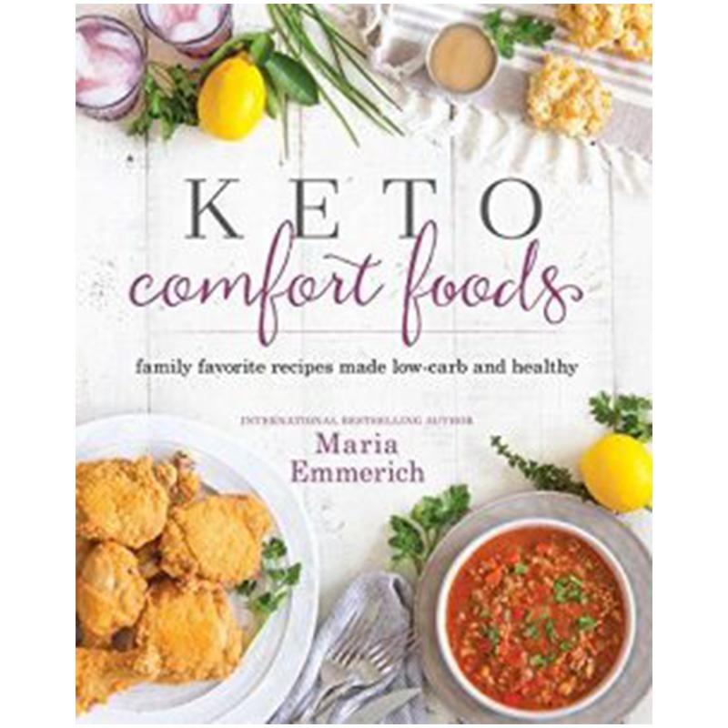 keto cookbook for comfort foods