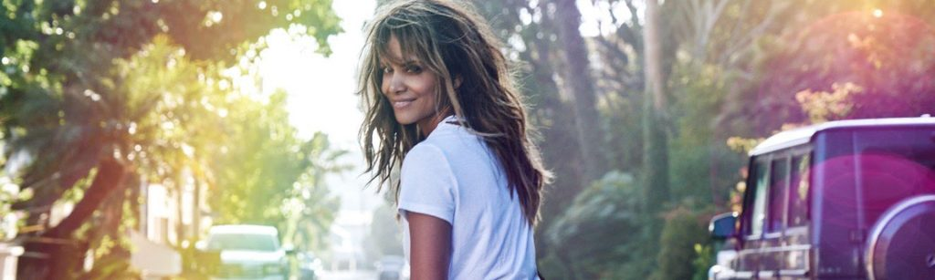 halle berry on skateboard fitness friday