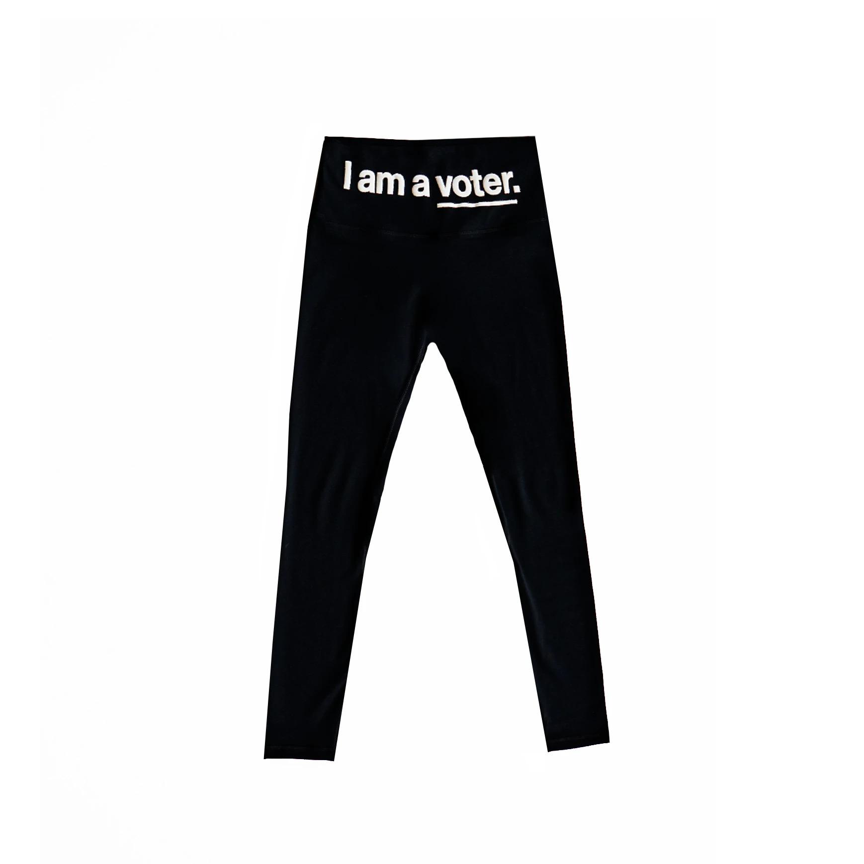 I am a voter. Legging
