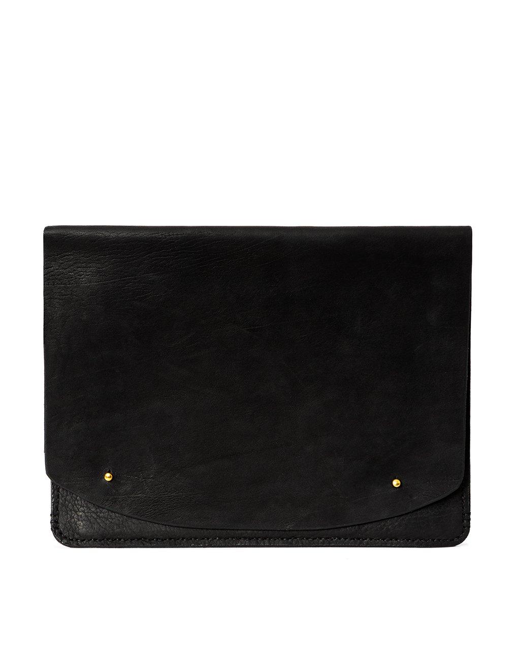 giving tuesday leather black portfolio